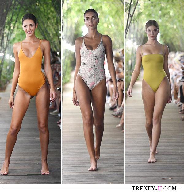 Модные слитные купальники Stone Fox Swim 2019