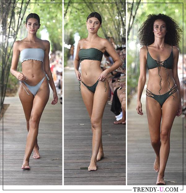 Купальники раздельные (модель бандо) для лета 2019 Stone Fox Swim для лета 2019