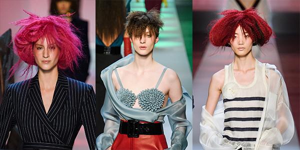 gofre-volosy-moda-2019 Модные женские стрижки 2019: 100 стильных идей на средние волосы