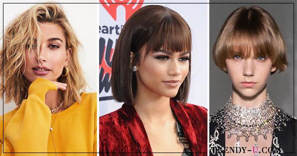 pricheski-strizhki-2019 Модные женские стрижки 2019: 100 стильных идей на средние волосы