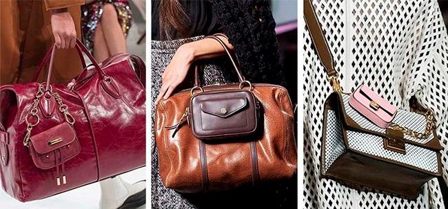 Как носить по несколько сумок сразу