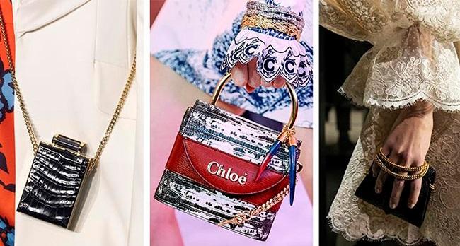 Маленькая сумочка - как дополнение к основному багажу или самостоятельный вечерний аксессуар