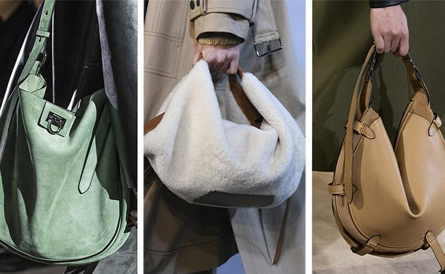 Эластичные сумки хобо без каркаса