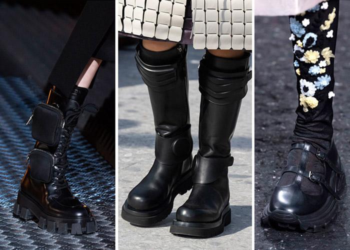 Грубая женская обувь