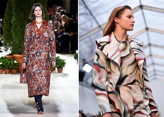 Модные принты для осенне-зимнего сезона