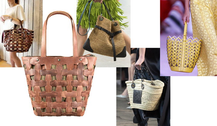 Модные плетенные сумки 2019-2020
