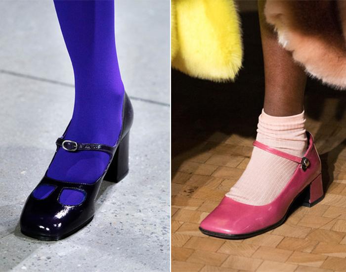 Туфли с перемычкой