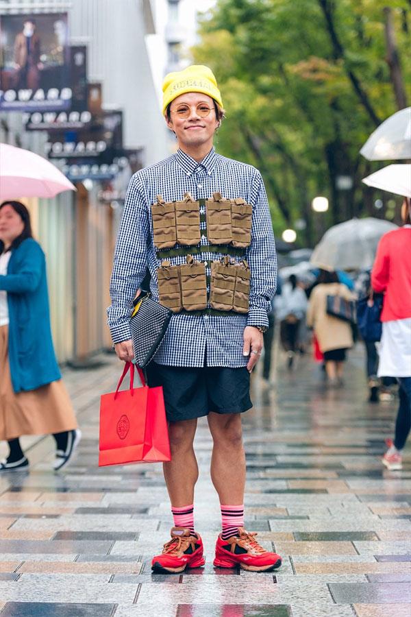 Уличная мода Токио. Осень 2019, наши дни
