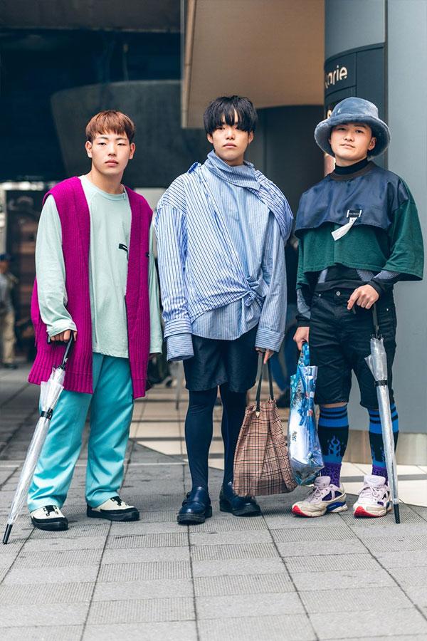 Самые странные образы мужской моды осени 2019