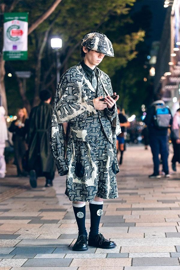 Самые несуразные образы уличной моды Токио