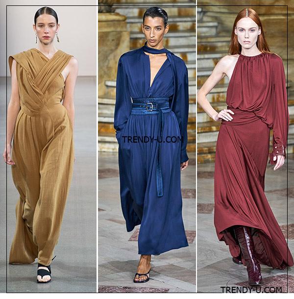 Платья с драпировкой от Sies Marjan и Bevza для весны и лета 2020