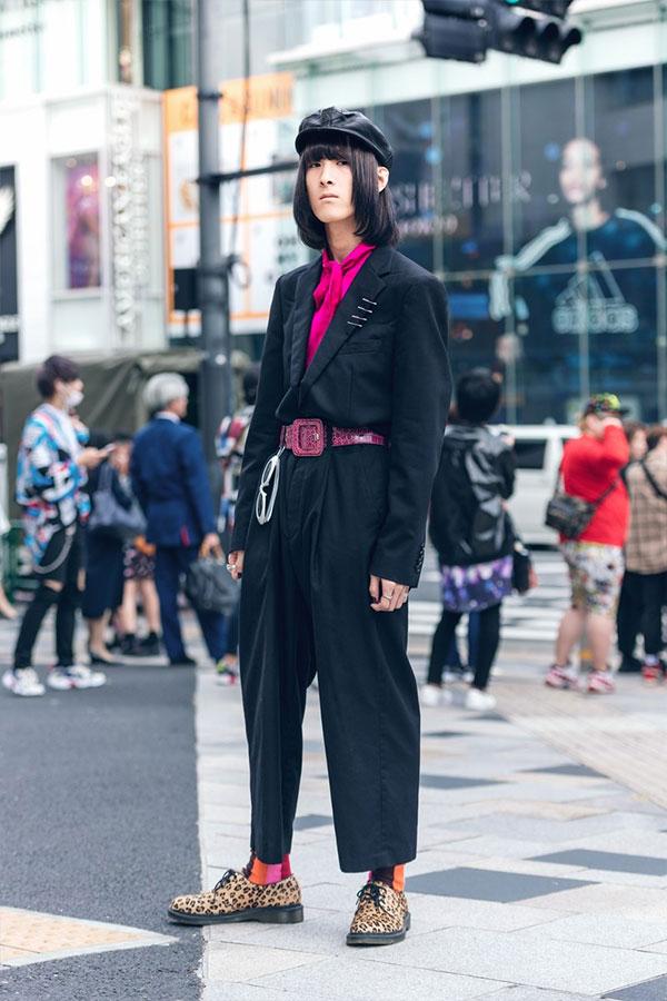 Уличный стиль Токио 2019. Мужчины