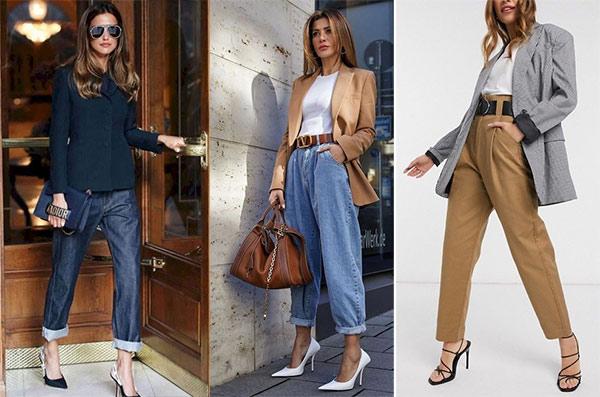Модные джинсы или брюки - на корпоратив