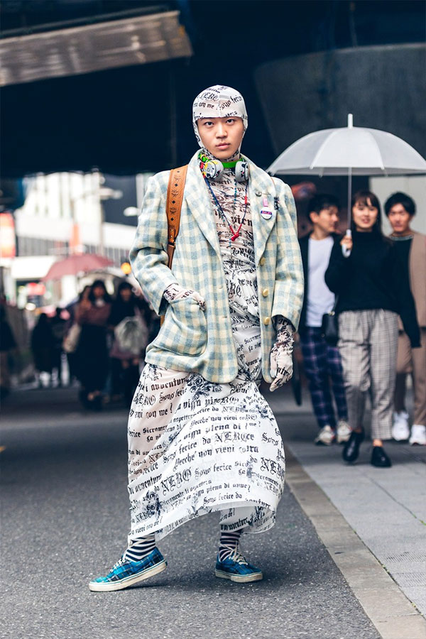 Уличный стиль Токио 2020. PHOTOGRAPHY BY KIRA