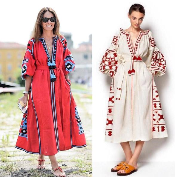 Образы в этническом стиле
