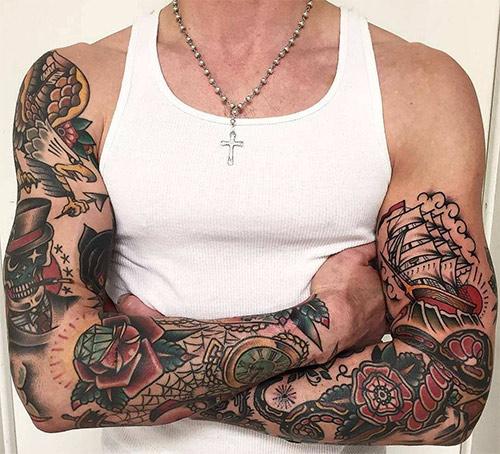 Татуировка в традиционном американском стиле, Олд Скул