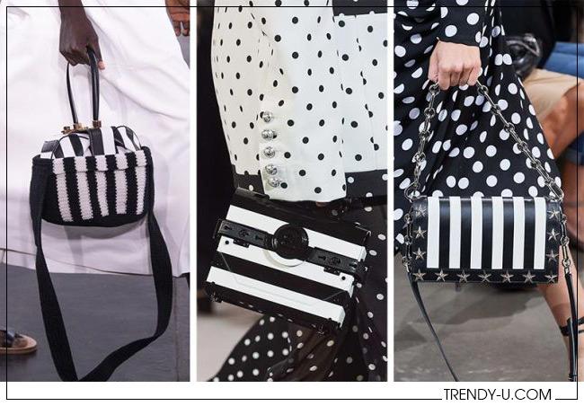 Полосатые сумки для весны и лета 2020 из коллекций Gabriela Hearts, Balmain и Michael Kors
