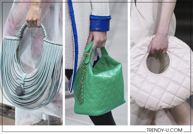 Модные сумки Georgoio Armanoi, Chanel и AWAKE Mode весна-лето 2020