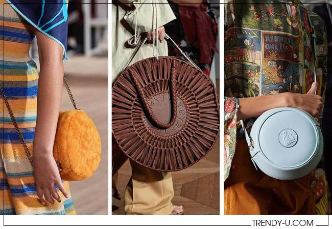 Круглые сумки для лета 2020 Marc Jacobs, Stella McCartney и Lanvin 2020