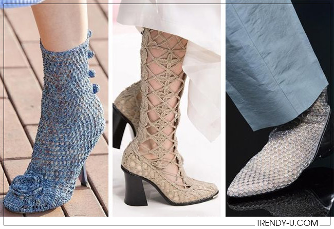 Модная обувь весна 2020 от Marco de Vincenzo, J.W. Anderson и Emporio Armani