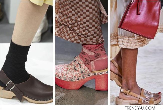 Модная обувь весна-лето 2020 из коллекций Margaret Howell, Anna Sui и Miu Miu