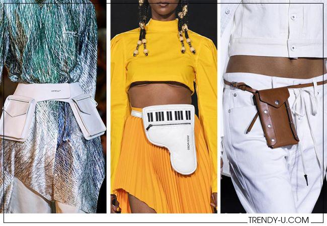 Модные поясные сумки Rag & Bone, Pyer Mossи Off White