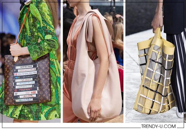 Сумки тоут от Louis Vuitton Jonathan Simkhai и Philip Lim весна-лето 2020