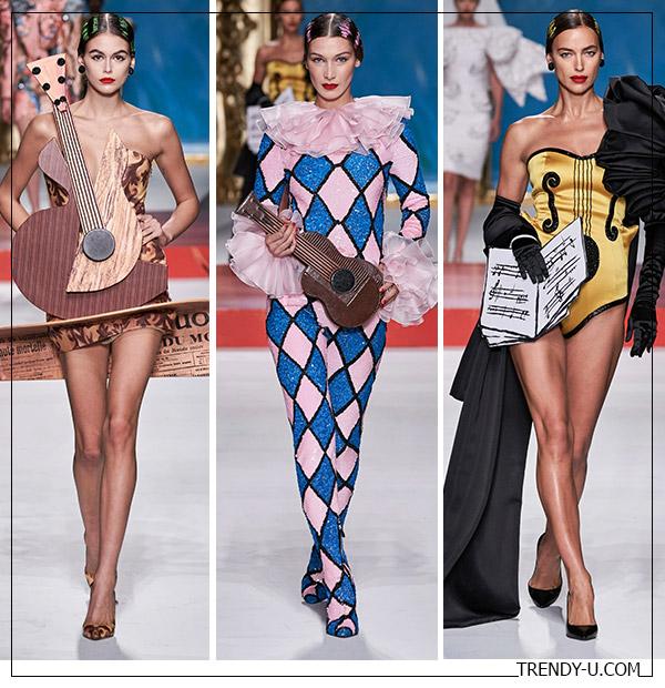 Модные образы из коллекции Moscino весна-лето 2020