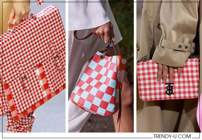 Модные сумки Parsons MFA, Lanvin и Burberry весна-лето 2020