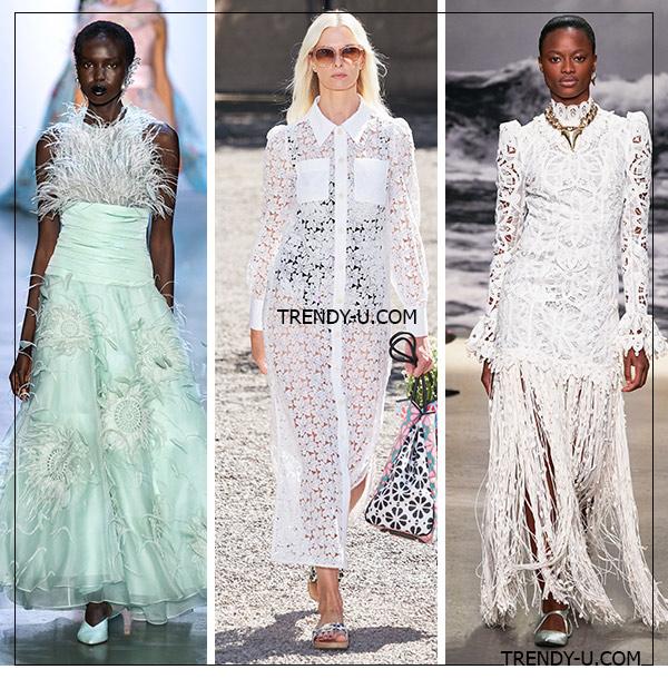 Кружевные платья от Prasbal Gurung, Kate Spade и Zimmermann для лета 2020