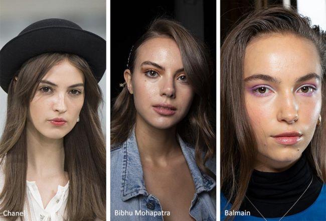 Модные оттенки волос весна-лето 2020: Chanel, Bibhu Mohapatra, Balmain