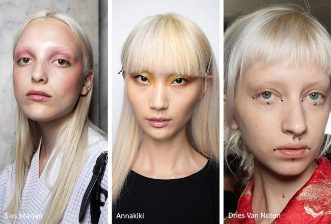 Модный цвет волос весна-лето 2020: Sies Marjan, Annakiki, Dries Van Noten