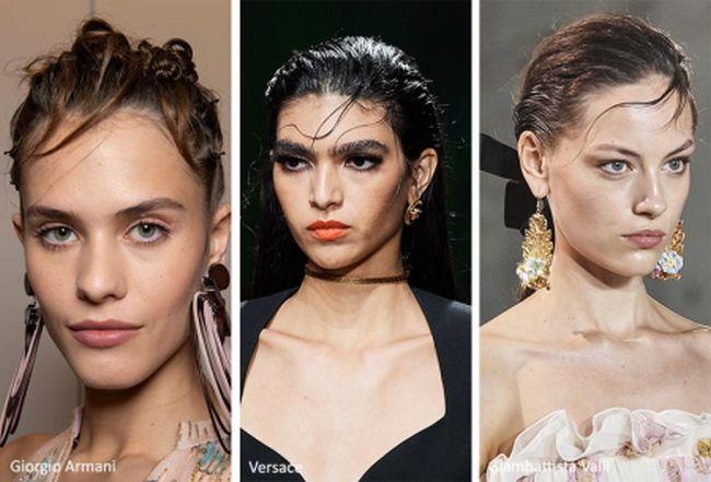 Модные укладки 2020: Giorgio Armani, Versace, Giambattista Valli