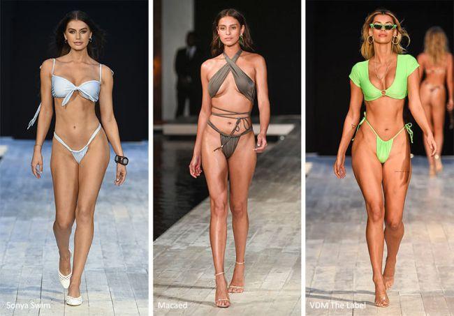 Модные купальники 2020 - с завязками