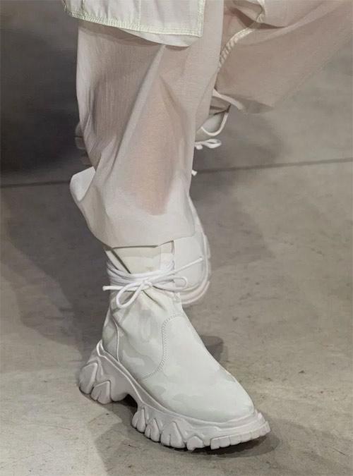 Кроссовки-носки из коллекции Angel Sanchez весна-лето 2020