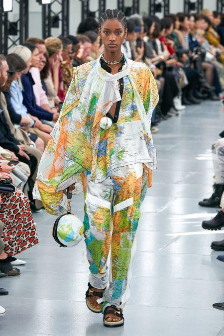 Модные украшения весна-лето 2020: Sacai