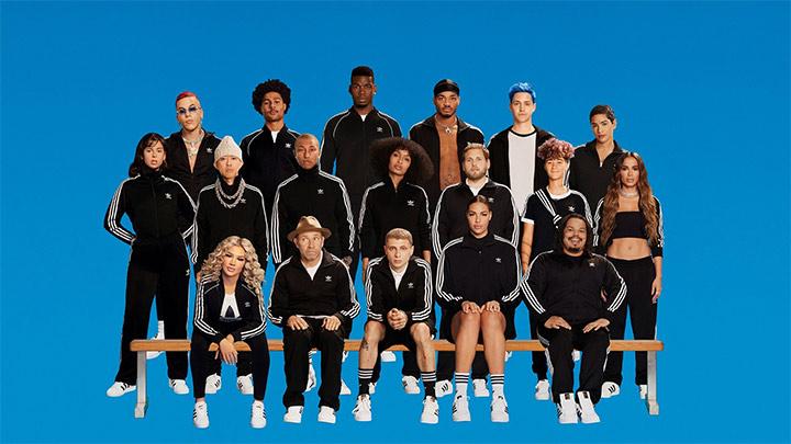 Какдр из рекламной кампании Adidas 2020