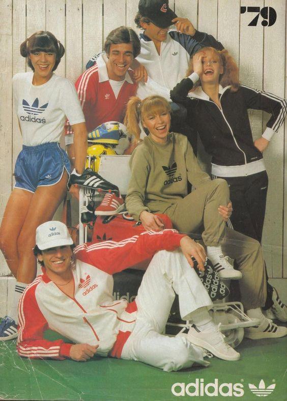 Спортивная одежда Adidas времен восьмидесятых