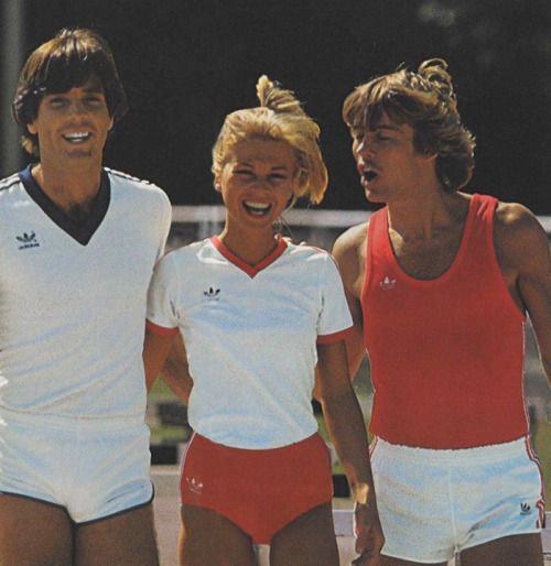 Одежда для активного отдыха 80-х