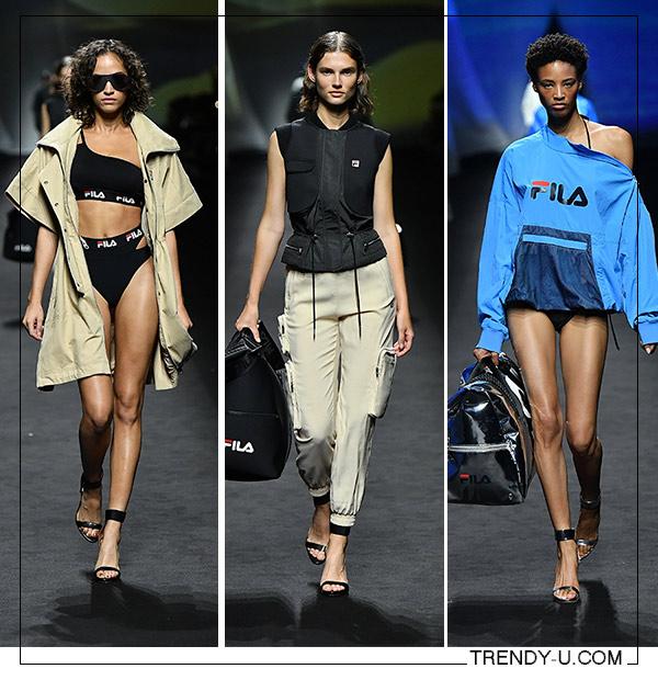 Модная спортивная одежда 2020 из коллекции FILA