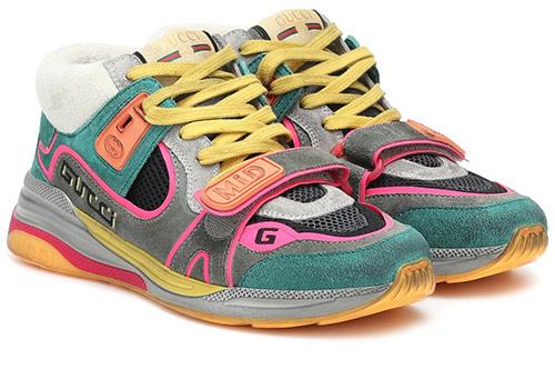 Женские кроссовки Gucci 2020 multicolor