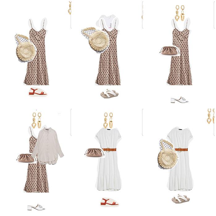 Образы с платьем или сарафаном