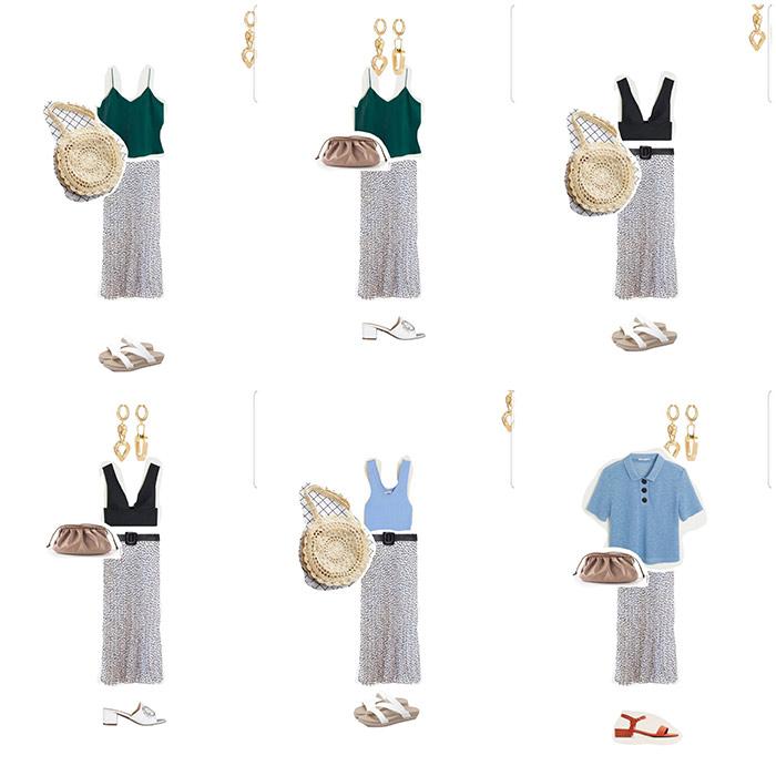 Образы на основе юбки