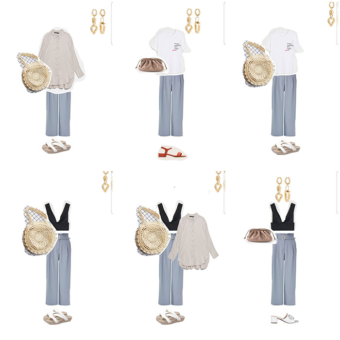 Образы на основе брюк