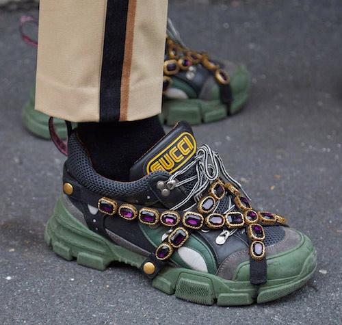 Женские кроссовки от бренда Gucci SS 2020