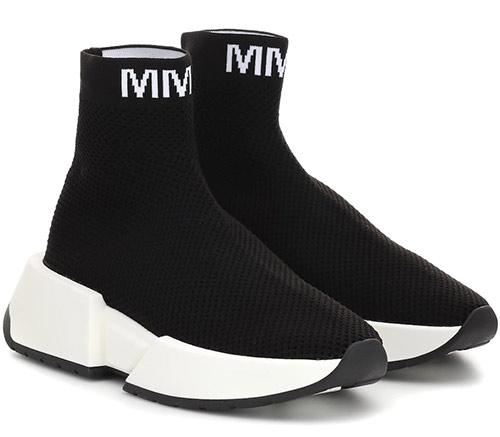 Черные женские кроссовки-носки Maison Margiela 2020
