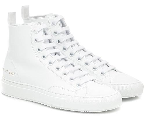 Белые кроссовки от Common Projects 2020 женские