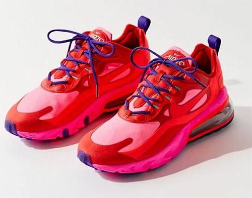 Кроссовки Nike малинового цвета для весны и лета 2020