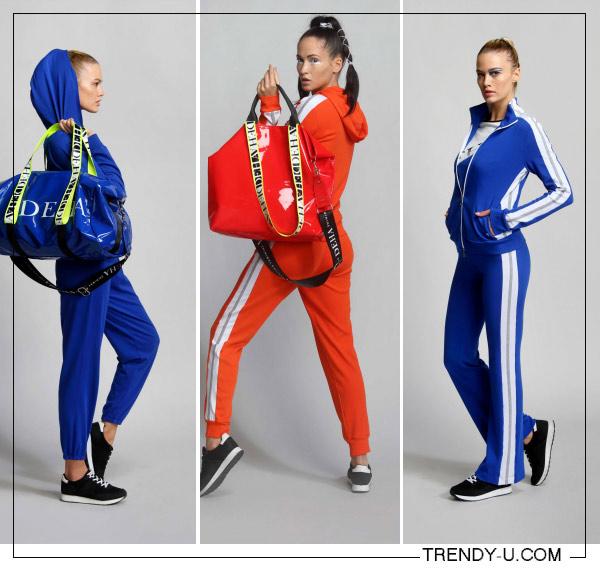 Спортивные костюмы DEHA SS 2020 для джогинга и активного отдыха на природе