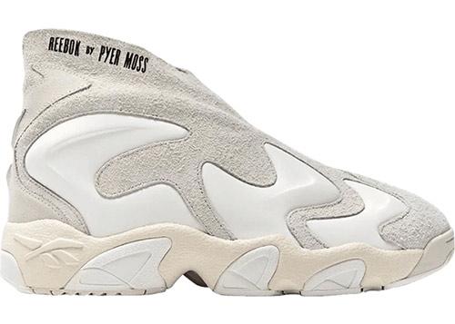 Модные кроссовки белого цвета Reebok by Pyer Moss 2020